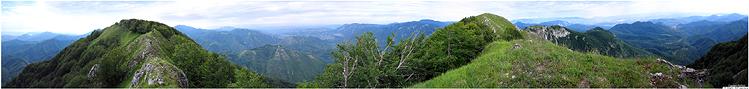 Panorama a 360° dalla cresta dell'Accellica (20 foto) [Link esterno]