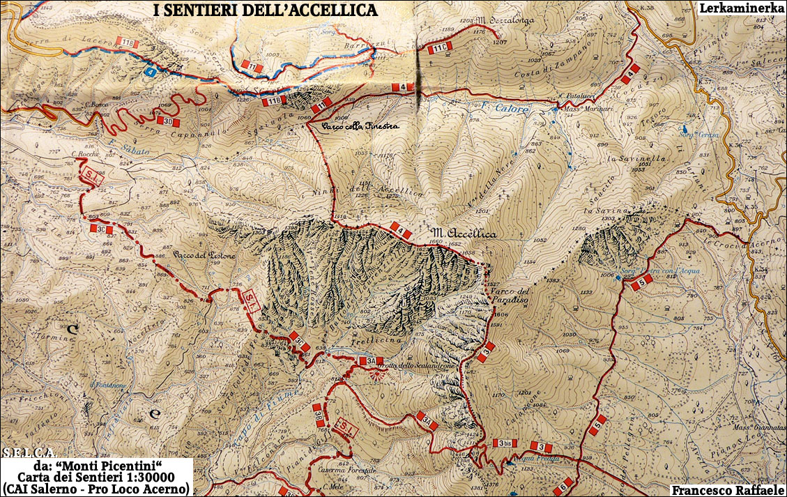 """Monte ACCELLICA"" (Monte Celica - 'A Celeca - Acellica"