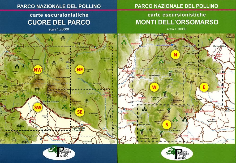 Cartina Igm Puglia.Carte Escursionistiche Del Parco Nazionale Del Pollino Recensione Di Francesco Raffaele 2019